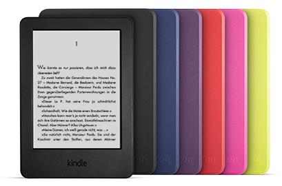 KINDLE Schutzhülle | violett (nur geeignet für den neuen KINDLE 4 GB!) (Originalware von amazon.de)