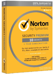 NORTON SECURITY PREMIUM | 10 Geräte/1Jahr | 25 GB Backup | Win/Mac/iOs/Android | D/F/I/E | ESD