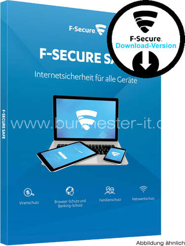 F-SECURE Safe 2018 | D/F/I/E | PC/Mac/Android | ESD