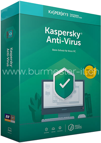 Kaspersky Anti-Virus 2019 Swiss Edition | PC | Win | D/F/I/E | ESD