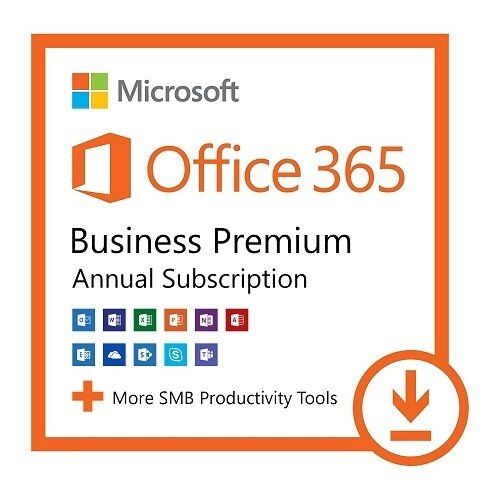 Microsoft Office 365 Business Premium | 32/64-bit | D/F/I/E | 1 user/15 Geräte/1 Jahr | ESD