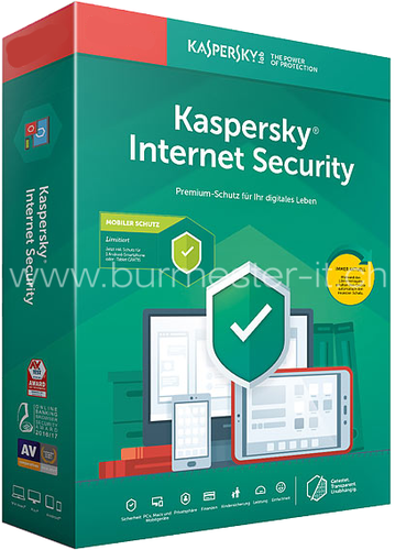 Kaspersky Internet Security 2020 | PC/Mac/Android | D/F/I/E | ESD