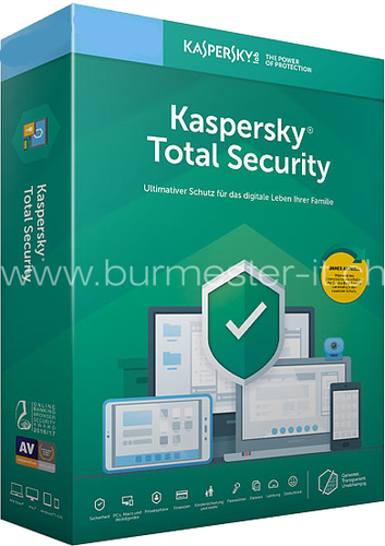 Kaspersky Total Security 2020 | D/F/I/E | PC/Mac/Android | ESD