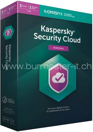 Kaspersky Security Cloud 2020 Personal | D/F/I/E | PC/Mac/Android/iOS | 3 Geräte/1 Jahr | ESD