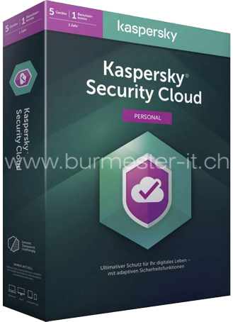 Kaspersky Security Cloud 2020 Personal | D/F/I/E | PC/Mac/Android/iOS | 5 Geräte/1 Jahr | ESD