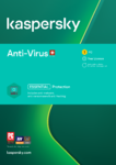 Kaspersky Anti-Virus 2021 Swiss Edition | PC | Win | D/F/I/E | ESD